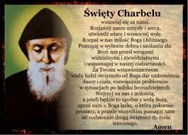 modlitwa sw. Charbel